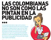 Artículo sobre la Mujer en la Publicidad Colombiana