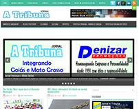 Jornal A Tribuna - Mudança de Layout mais moderno e lev