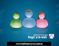 Campaña Lanzamiento Web - Mañana Express