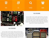 Web Equipos y Guitarras