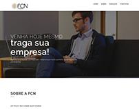 Website da FCN Contabilidade