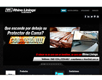 Rhino Linings El Salvador / Website
