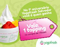 Cupom Promocional :: Yogofresh