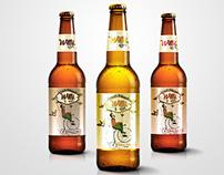 Diseño de etiqueta Artesanal Willi beer