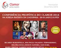 Newsletters for Clamor pelas Naçoes