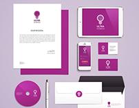 Publicity company´s branding design