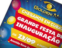Inauguração Golden Mix Cubatão