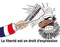 CHARLIE HEBDO LIBERTÉ D´ EXPRESSION