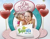 Anúncio dia das mães Superalfa