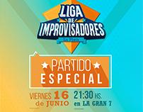 Flyers 2017 | Liga de Improvisadores La Plata