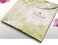 Vivalivre - Folder e Papelaria