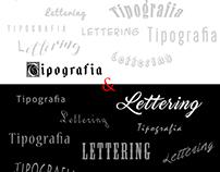 Tipografia & Lettering