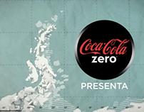 Coca Cola Zero. Metallica en la Antartida