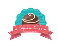 Redesign Logo Beijinhos Doce's
