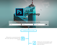 Landing Page - Curso Photoshop