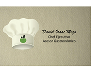 Tarjetas de Presentación - Chef