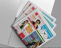 Pauta Publicitaria en Periódico - Temática Ópticas
