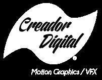 Creador Digital Studios Demo Reel 2017