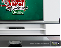 Cartela VT Papai Noel Voltou - Center Kennedy