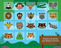 Proyecto-Animales de la selva