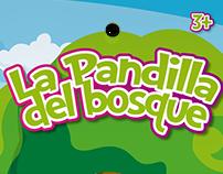 "La Pandilla del Bosque, Pelotas de Esponja 2.5"""