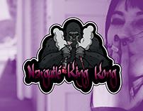Logotipo Narguilé King Kong