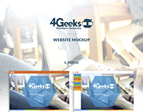 4Geeks Dev. Community - Website Mockup - UI Design