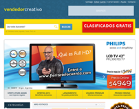 Vendedor Creativo - Diseño Web