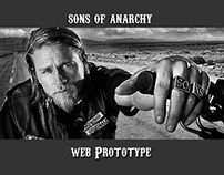 Sons of Anarchy Web Responsive