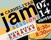 Banda Marcial de Caracas / Flayers, programas de mano.