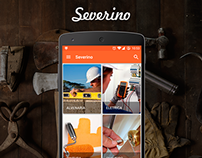 App Screen (Select Services) - Severino App