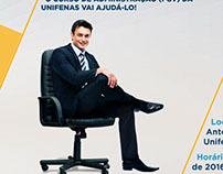 Anúncio para Evento Admministração Unifenas FGV