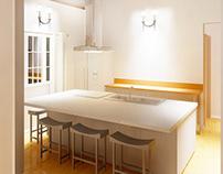 concepto casa compacta