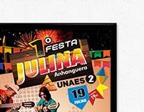 Cartaz Anhanguera UNAES 2
