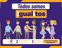 Campaña LGTBI para el mes de enero del 2019