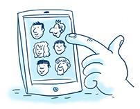 Cartoons for Contractors website