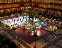 3D Evento de hielo Plaza Mayor de Madrid