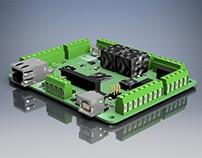 Diseño y Renders Circuitos Electrónico