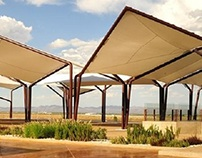 Terraza de cata de vino / Wine tasting terrace