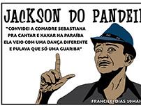 ARTE: JACKSON DO PANDEIRO, VETORIZADO NO CORELDRAW!!