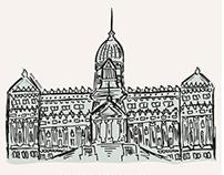 ilustraciones a mano, vectorizadas