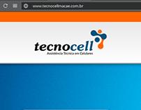 Website Wordpress Tecnocell Macaé-RJ