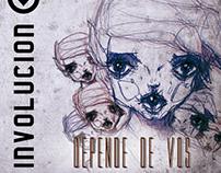 "Diseño disco ""Depende de vos"" de INVOLUCION"
