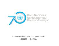 #ONU70 años - CINU Lima