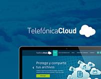 Telefónica Cloud diseño de aplicación.