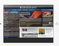 El Financiero Financial Newspaper iOS iPad Versión
