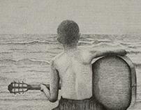 Ilustración: La geometría en la playa