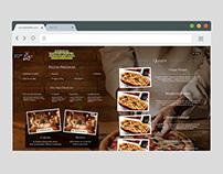 Website Avenida Paulista Pizzaria