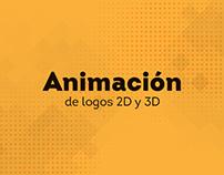 Animación de logos 2D y3D