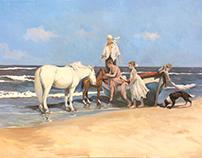 """""""El bote"""" 150x100cm"""